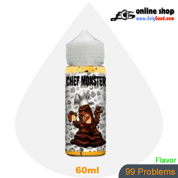 Chef Monster E-Juice vaper e-liquid-99 Problems 60ml