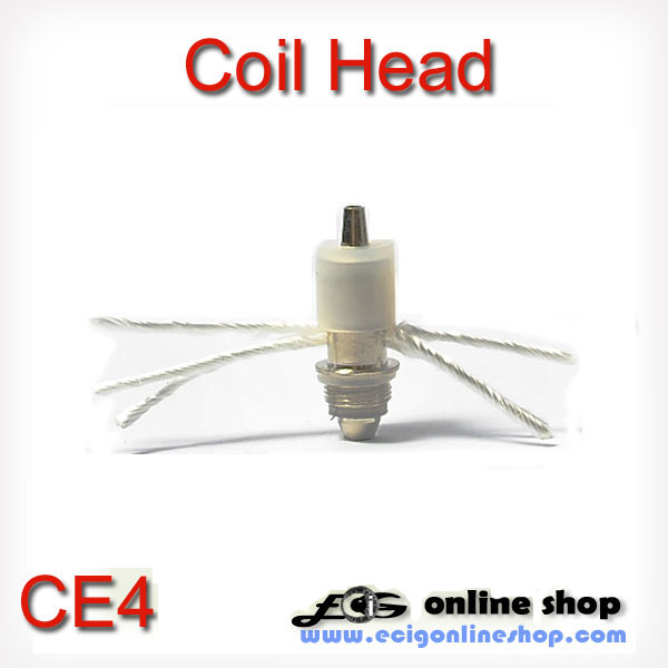 CE4 crystal cartomizer coil head 2.5ohm or 1.8ohm x 5