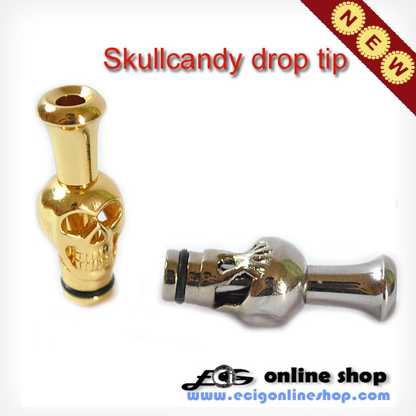 Stainless steel Drip Tips skullcandy for 510 clearomizer