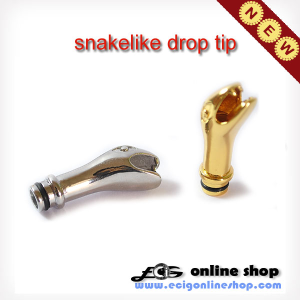 Stainless steel Drip Tips snakelike for 510 claeromizer free sh